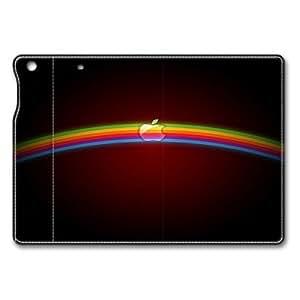 Apple Rainbow Logo iPad Air Flip Leather Case Cover