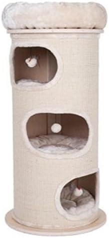 Resistente Cat Scratching barril Tres dens con individual ...