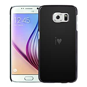 New Fashion Custom Designed Skin Case For Samsung Galaxy S6 Phone Case With Dark I Love You Phone Case Cover
