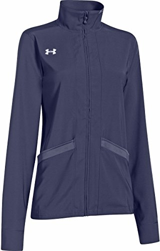 Under Armour Women's Pre Game Woven Jacket Small Midnight Navy