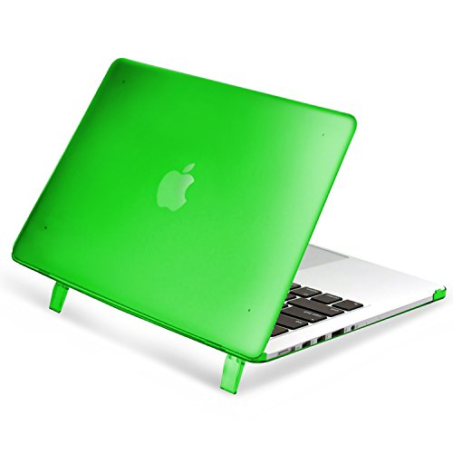 "Apple MacBook Pro with Retina Display 15"" Case, Insten Snap-in Rubber Case Compatible with Apple MacBook Pro with Retina Display 15"", Green"