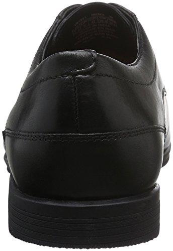 Rockport Styleconnected Plain Toe, Zapatos de Cordones Derby para Hombre Negro