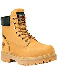 (绝了)Timberland PRO超级天伯伦 6寸防水全真皮男士皮靴 折后 $72.83