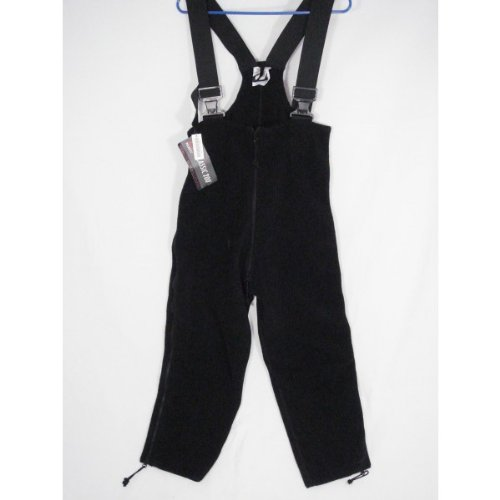 Polartec 200 Fleece Overalls Extreme Cold Weather ECWCS Gen II, Genuine U.S. MIlitary Issue, Black - XL L (NSN: 8415-472-6918)