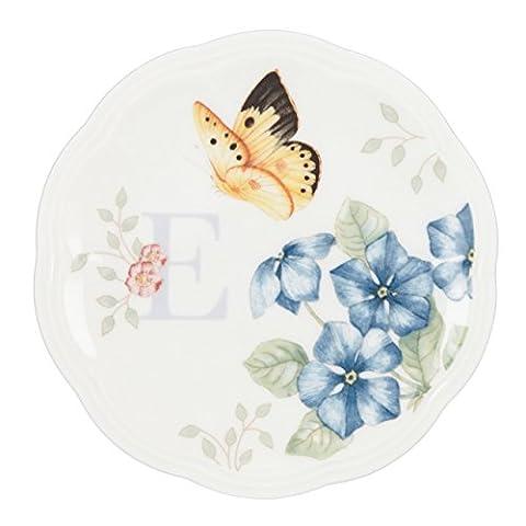 Lenox Butterfly Meadow Dish Initial E (Butterfly Jewelry Dish)