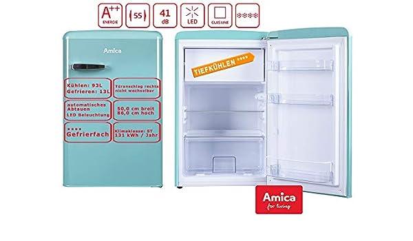 Amica KS15612T nevera y congelador Independiente Azul A++ ...