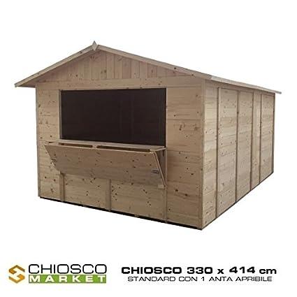 Home Idea Italia Kiosks Box Wooden Market 330 X 414 Cm
