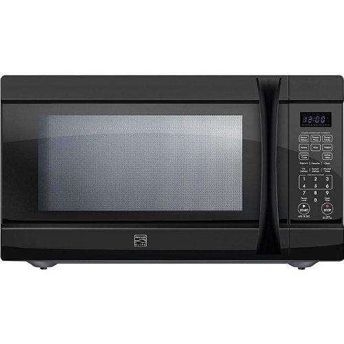 Kenmore Elite 2.2 cu. ft. Countertop Microwave w/ Extra-Large Capacity Black 74229