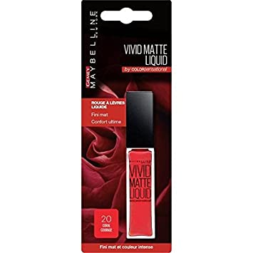 gemey maybelline color sensational lipstick n 20 coral blister courage unit price - Gemey Maybelline Color Sensational