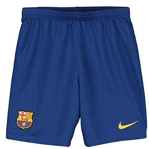 Nike 2019-2020 Barcelona Home Football Shorts Blue (Kids) (Girls Short Football)