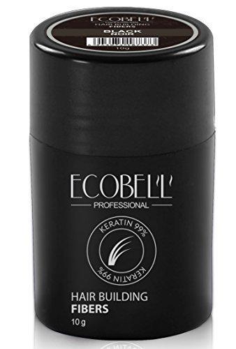 Ecobell microfibra de cheratina de 10gr. (negro)