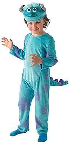Boys Disney Monsters Inc University Deluxe Sulley Blue