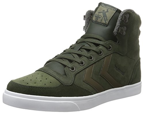 cheap sale with credit card Hummel Unisex Adults' Stadil Winter Hi-Top Sneakers Green (Rosin) discount genuine enjoy shopping MDO5NpOkT