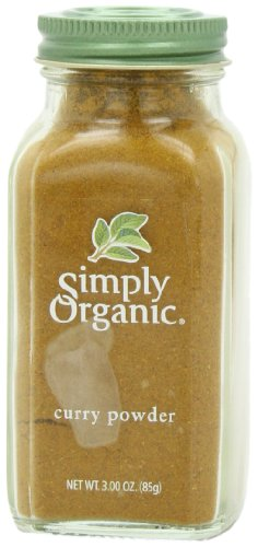 Simply Organic Curry Powder Certified Organic, 3-Ounce Bottle