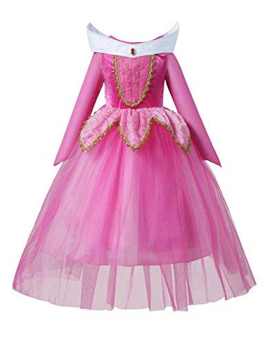 Sleeping Beauty Princess Aurora Party Girls Costume Dress (2-3 Years)]()