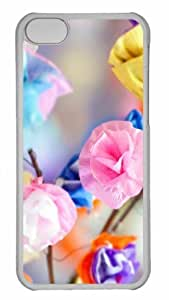 linfenglinCustomized iphone 5C PC Transparent Case - Where Do You Go To Find Peace Of Mind Personalized Cover