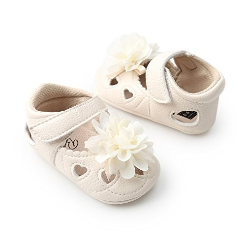 eecf879028c21 Infant Toddler Baby Girls Mary Jane Slippers Soft Sole PU Leather No ...