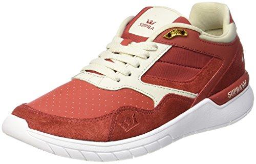 K-Swiss Winslow, Sneaker Basse Uomo Red (Cayenne/Bone-white)