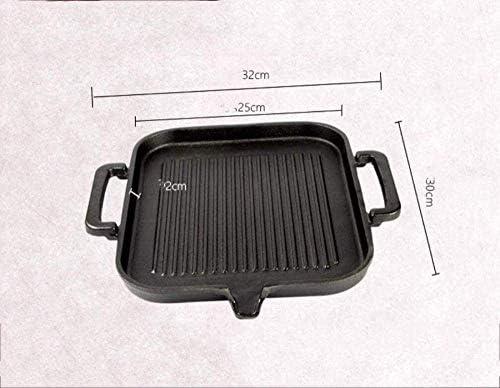 Fonte de cuisson Plateau Accueil Barbecue non-Stick Grill Plate (mise à niveau) QIANGQIANG
