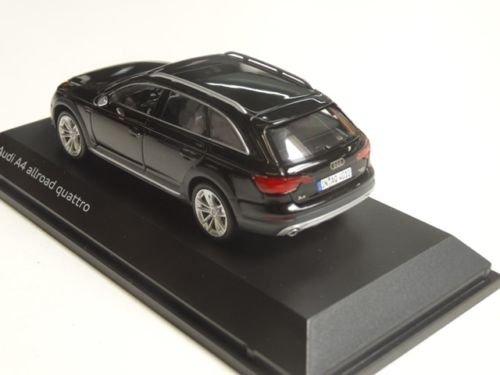 Original Audi A4 allroad Modellauto 1:43 Mythosschwarz Schwarz Modell 2016