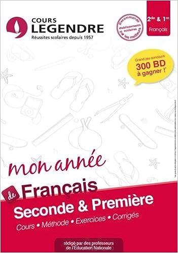 Francais 2nde Cahier De Vacances 2nde Amazon Fr Marrucho