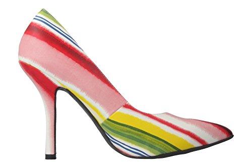 Andres Machado Damen High Heels - Mehrfarbig Schuhe in Übergrößen