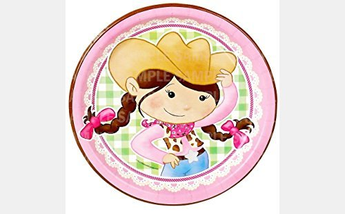 Pink Cowgirl Birthday Edible Image Photo 8