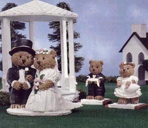 The Windsor Bears - DEARLY BELOVED - Wedding Bears