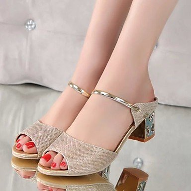 Summer RTRY Sandals UK2 Comfort US4 Gold Casual Pu EU34 Flat 5 4 5 CN33 2 Women'S Comfort Silver 5rI4rw