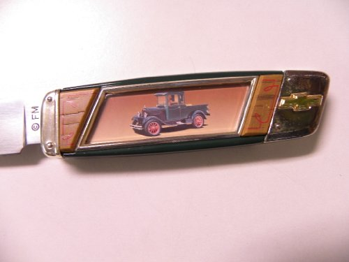 Franklin Mint 1928 Chevy Light Duty Pocket Knife B11XP91 (Franklin Mint Folding Knife)