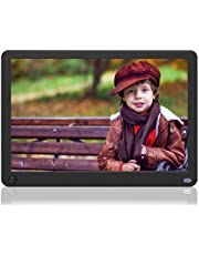 Digital Photo Frame Melcam 10 Inch Digital Picture Frames 1280x800 High Resolution 16:9 Full IPS Display Auto-Rotate Motion Sensor Electronic Picture Frame Video Calendar Clock Auto On/Off Timer