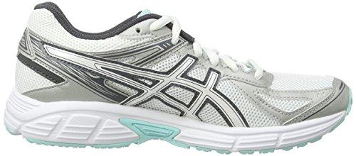 Entrainement 7 Asics De Chaussures Patriot 0102 Running Ice white Femme vanilla Splash aqua Blanc 5rqwqXxTt