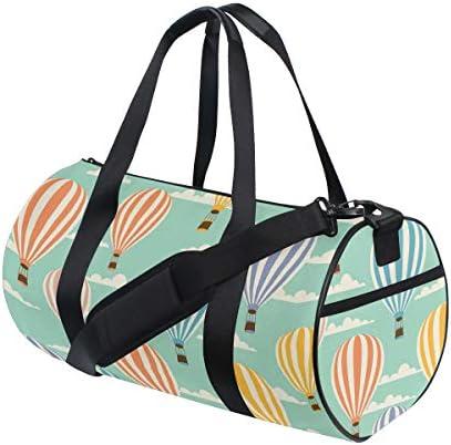 ボストンバッグ 熱気球 空 ジムバッグ ガーメントバッグ メンズ 大容量 防水 バッグ ビジネス コンパクト スーツバッグ ダッフルバッグ 出張 旅行 キャリーオンバッグ 2WAY 男女兼用