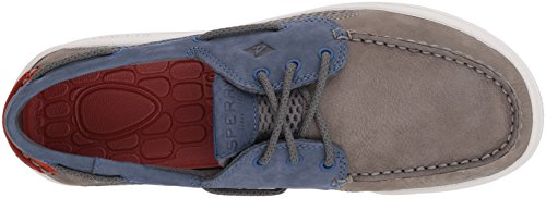 Sperry Top-sider Heren Gamefish 3-eye Bootschoen Grijs / Navy