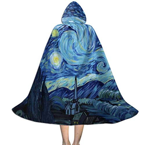 Starry Night Witch Costumes - Halloween Costumes Starry-Night Hooded Witch Wizard