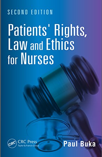 Patients' Rights, Law and Ethics for Nurses, Second Edition Pdf