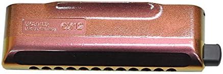 HOHNER ホーナー クロマチックハーモニカ CX-12 Jazz 7546/48