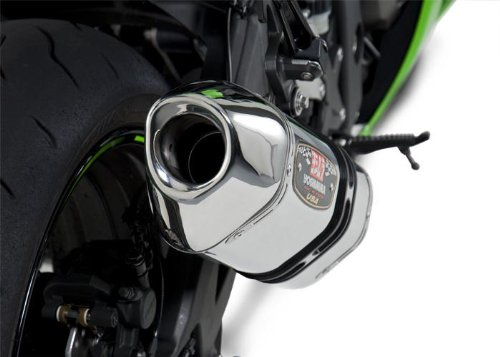 (Yoshimura 11-15 Kawasaki ZX10R R-77 3/4 System Exhaust (Race/Stainless Steel/Stainless Steel/Carbon Fiber))