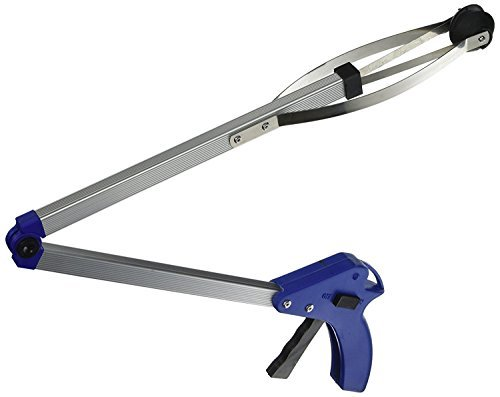 Top McKinley Folding Helping Hand Long-Reach Pick-Up Gripper - Light Weight Aluminum Body