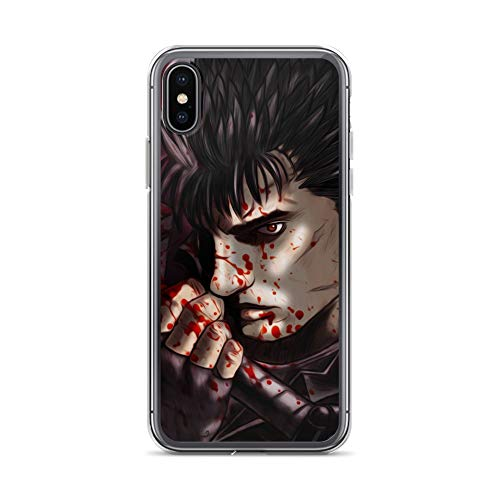 iPhone X/XS Case Anti-Scratch Japanese Comic Transparent Cases Cover The Eclipse Anime & Manga Graphic Novels Crystal Clear