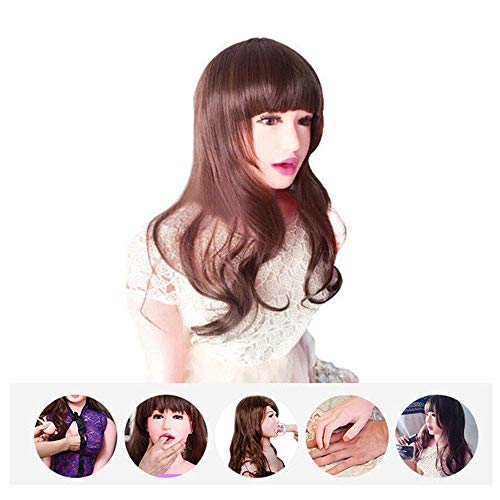 165 cm 3D Realistic Silicone Doll Adult Toys-Men's Inflatable Doll Solid Silicone Mold Material (A)