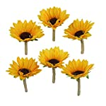 Lily-Garden-Artificial-Calla-Lily-Sunflower-and-Peony-Flower-Wedding-Bouquets-boutonnieres-x-6