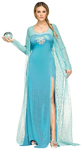 Fun World Ice Queen Adult Costume SMALL 4-6