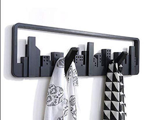 ANGEL #39;S European Creative Decoration Wall Hooks Hangers Coat Rack Scalable Coathook Wall Shelf Hook Wall Mount Multi Hook for Clothes/Coat/Key Rin