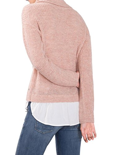 edc by Esprit, Suéter para Mujer Rosa (Nude 685)