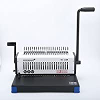 Rayson Binding Machine Paper Punch Binder with Starter Combs Set - 21 Hole / 400 Sheets