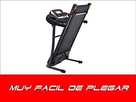 FIT-FORCE Cinta de Correr Plegable 1600W Velocidad hasta 15KM con ...