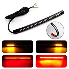 High Brightness let other drivers know you're ahead. Provide you with a safer driving.Specification:  Material: FPC&plastic Strip Length: 8inch Wire length:100cm Working Temp:-40℃~+80℃ Working Voltage: fit 12V system. Waterproof: IP65. Co...
