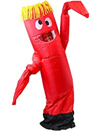 Inflatable Costume Tube Dancer Wacky Waiving Arm Flailing Halloween Costume Adult Size