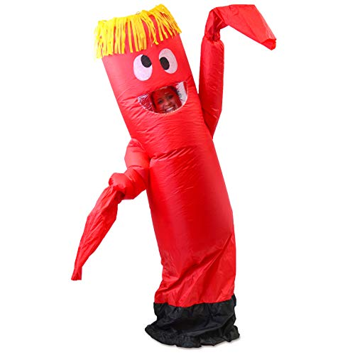 Spooktacular Creations Inflatable Costume Tube Dancer Wacky